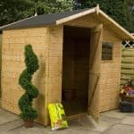 7' x 5' Windsor Shiplap Offset Apex Shed