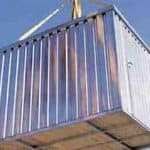 7' x 6'10 ExpandaStore 2M Galvanised Metal Store