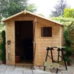 7 x 7 Walton's Apex Tongue & Groove Shed