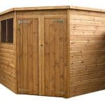 7 x 7 Waltons Tongue and Groove Wooden Corner Shed side
