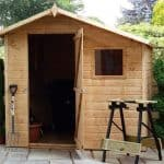 7' x 7' Windsor Shiplap Offset Apex Shed