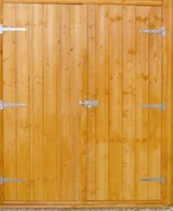 7'1 x 7'1 Shire Shiplap Corner Shed Door