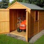 7'10 x 5'10 Shire Apex Warwick Double Door Shed 2