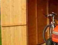 7'10 x 5'10 Shire Apex Warwick Double Door Shed Door