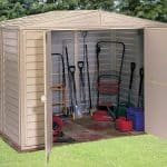 7'10 x 7'10 Duramax DuraMate Plastic Shed
