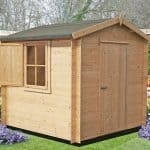 7'10 x 7'10 GardenStyle Camelot Log Cabin