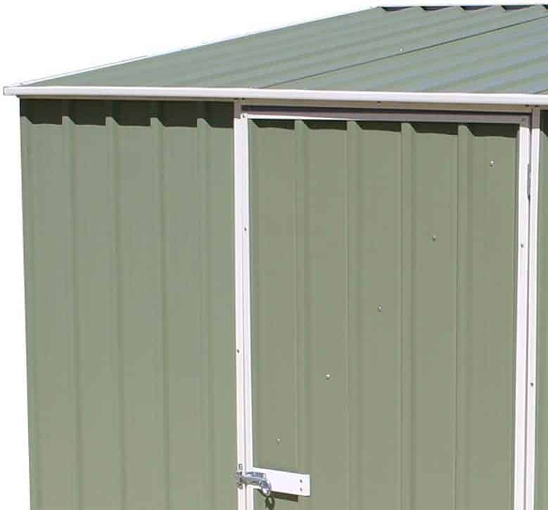 X Absco Storemaster Green Metal Shed What Shed