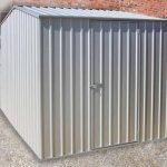 7'5 x 9'10 Absco Premier 2ZA Zinc Metal Shed