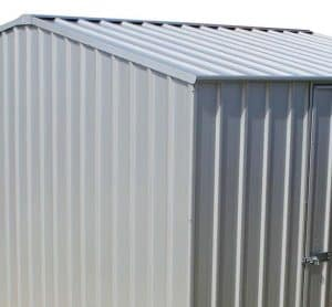 7'5 x 9'10 Absco Premier 2ZA Zinc Metal Shed Cladding and Door Security