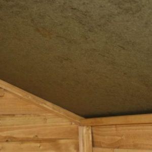 7x3 Waltons Overlap Apex Wooden Bike Shed Ceiling