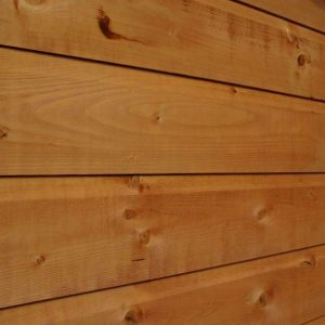 7x3 Waltons Tongue and Groove Apex Wooden Bike Shed Cladding