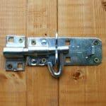 7x3 Waltons Tongue and Groove Apex Wooden Bike Shed Padlockable Door