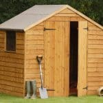 7'x5' Shed-Plus Double Door Overlap Wooden Shed