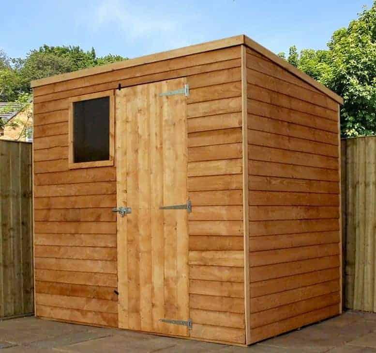 garden sheds 7x5