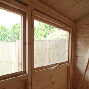 8 X 8 MERCIA ULTIMATE SHED Inside View