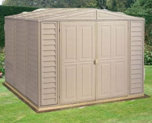 8' x 10' Duramax DuraMate Plastic Shed