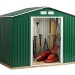 8 x 10 Store More Emerald Rosedale Apex Metal Shed