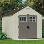 8' x 10' Suncast New Tremont Three Apex Roof Shed