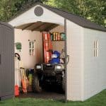 8' x 12'5 Lifetime Heavy Duty Plastic Shed