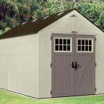 8' x 13' Suncast New Tremont Two Apex Roof Shed