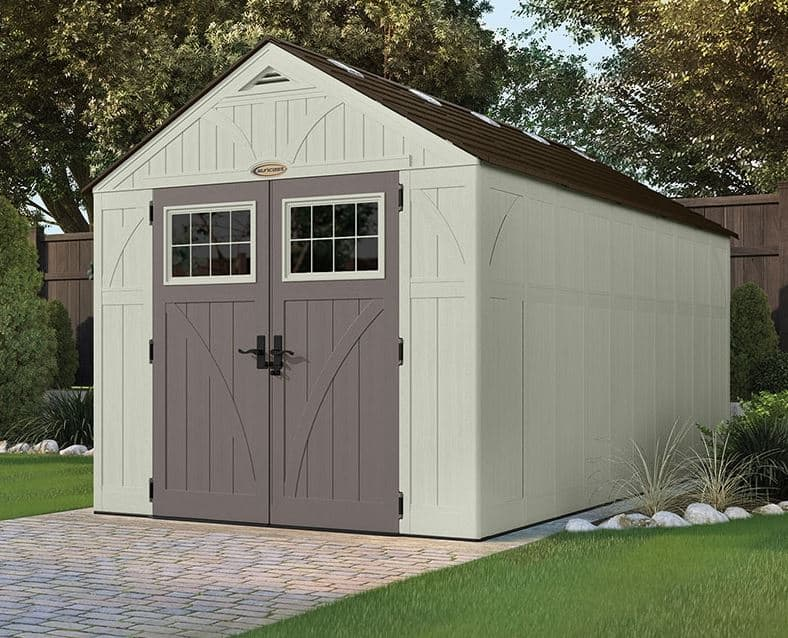 8' x 16' Suncast New Tremont One Apex Roof Shed
