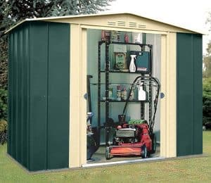 8' x 3' Shed Baron Grandale Eight Metal Shed