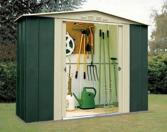 plain garden sheds x storage shed cu ft model in - Garden Sheds 8 X 3