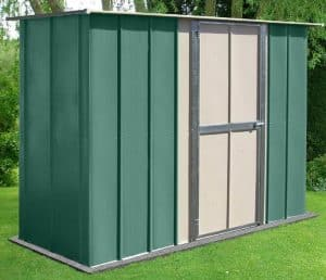 8' x 3' Store More Canberra Utility Metal Shed
