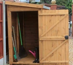 8' x 3' Traditional Pent Tool Store Shed