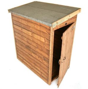 8' x 3' Traditional Pent Tool Store Shed Single Open Door