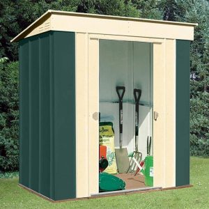 8' x 4' Shed Baron Grandale Pent Metal Shed
