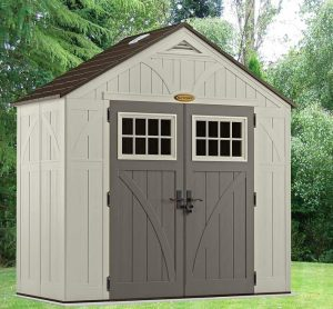 8' x 4' Suncast New Tremont Five Apex Roof Shed