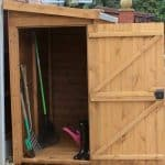 8' x 4' Traditional Pent Tool Store Shed