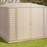 8' x 5' Duramax DuraMate Plastic Shed
