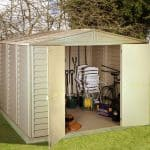 8' x 5' Duramax DuraMate Plastic Shed Wide Double Door