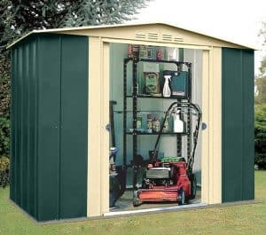 8' x 5' Shed Baron Grandale Eight Metal Shed