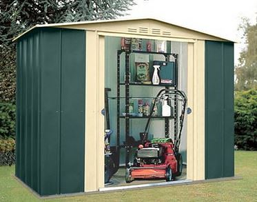 8 x 5 StoreMore Canberra Eight Apex Metal Shed