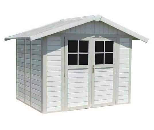 8' x 6' Grosfillex Deco 4.9 PVC Summerhouse