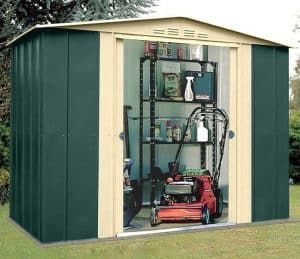 8' x 6' Shed Baron Grandale Eight Metal Shed