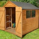 8' x 6' Shed-Plus Classic Overlap Double Door Shed