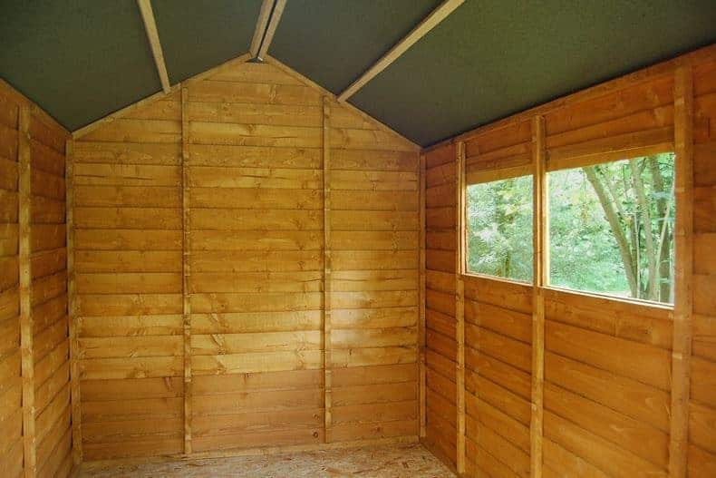 8 X 6 Shed Plus Classic Overlap Double Door Shed What Shed
