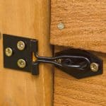8' x 6' Shed-Plus Classic Overlap Double Door Shed Padlock Feature