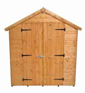 8' x 6' Shed-Plus Heavy Duty Shiplap Shed Closed Door