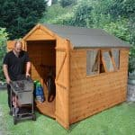 8' x 6' Shed-Plus Heavy Duty Shiplap Shed Feature