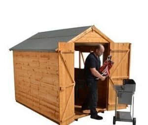 8' x 6' Shed-Plus Heavy Duty Shiplap Shed Side View 2
