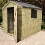 8' x 6' Shed-Plus Heavy Duty Shiplap Wooden Shed