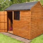 8' x 6' Shed-Plus Overlap Reverse Apex Shed