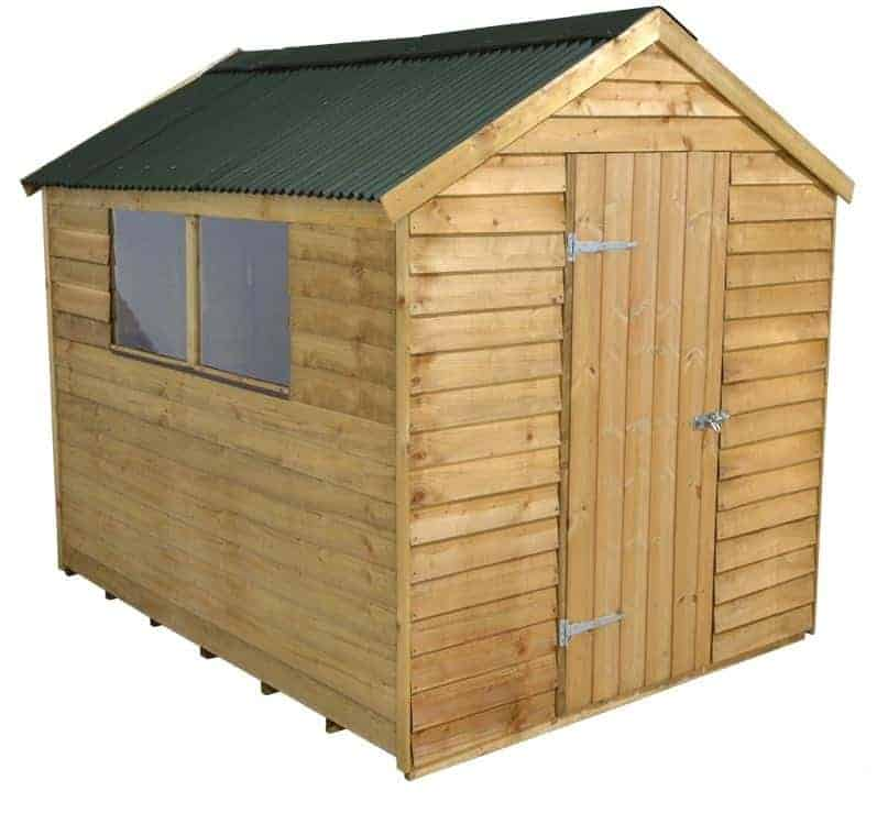 8' x 6' Shed-Plus PT Overlap Shed with Onduline Roof
