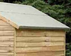 8' x 6' Shed-Plus Pressure Treated Overlap Security Shed Roof