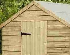 8' x 6' Shed-Plus Pressure Treated Overlap Shed Roof and Door